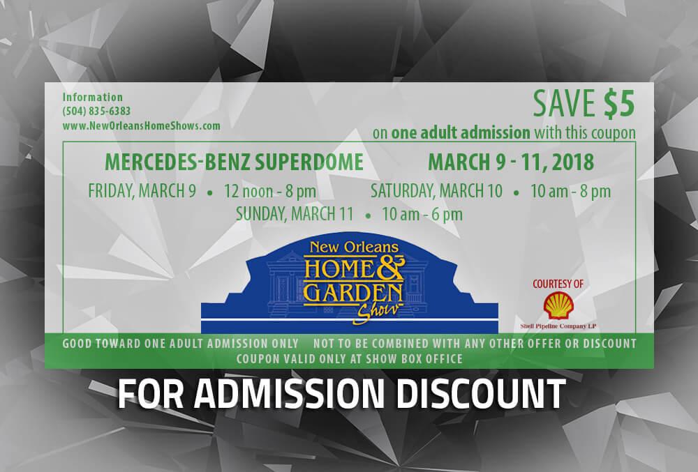Admission Discount